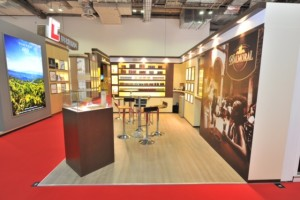 Agio Cigars stand at TFWA Asia Pacific 2015