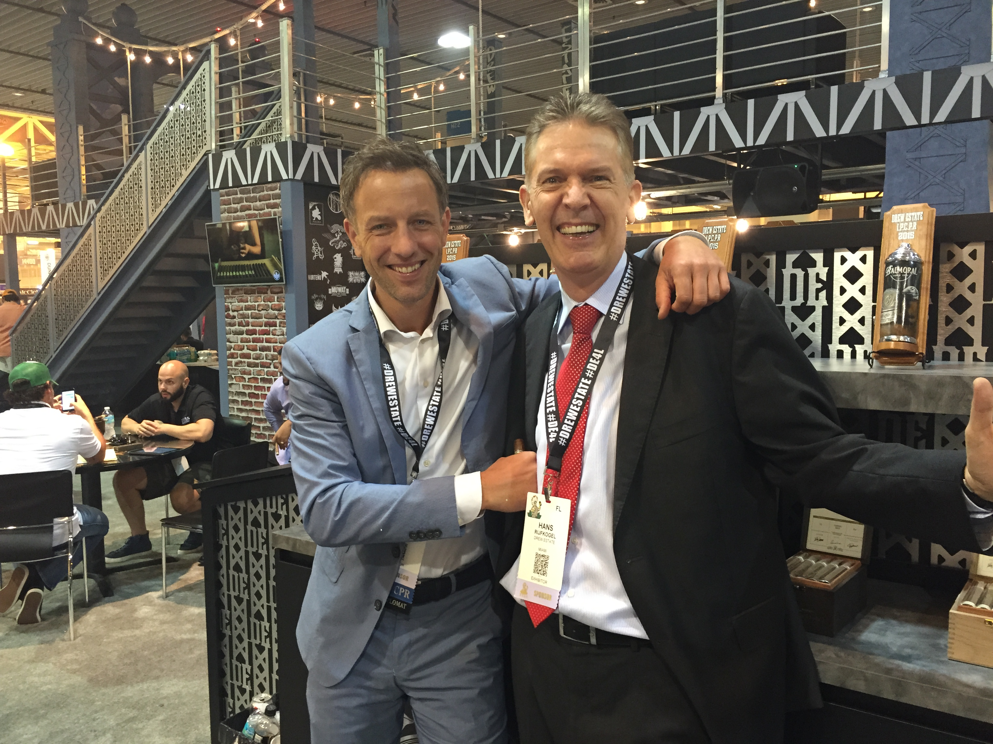 Video & Photos: IPCPR 2015 Agio Cigars and Drew Estate