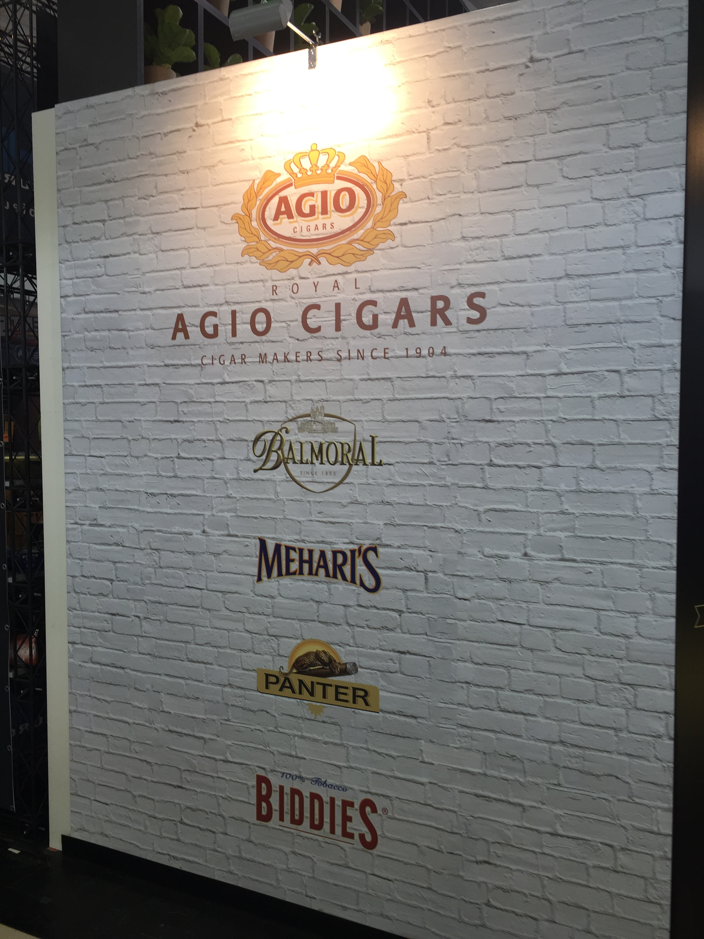 Video & Photos: Intertabac 2015 Agio Cigars