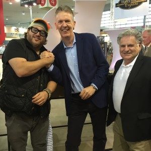 Jonathan Drew, Hans Rijfkogel and David Salem