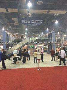 Drew Estate booth IPCPR 2016