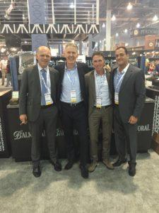Hans Rijfkogel with Agio Cigars Team