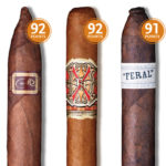 Cigar Aficionado gives Liga Privada Flying Pig 91 rating