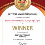 Balmoral Private Collection wins DFNI Award